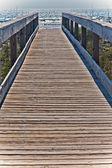 Pier to The Atlantic Ocean — Stock Photo