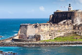 El Morro Castle, San Juan, Puerto Rico — Stock Photo