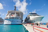 Cruise Port in St. Maarten — Stock Photo