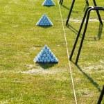 Stack of Golf Balls — Stock Photo #18091147