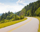 Blue Ridge Parkway, North Carolina — Stock Photo