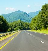 Parkway en carolina del norte — Foto de Stock