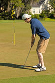 Golf Putting — Stockfoto