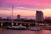 Sunrise in Fort Lauderdale, Florida — Stock Photo