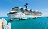 Cruise Ship in Ocho Rios, Jamaica — Stock Photo