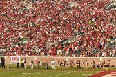 Florida state home fußballspiel — Stockfoto