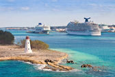 Cruise Port in Nassau, Bahamas — Stock Photo