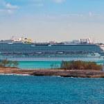 巴哈马首都拿骚港 — 图库照片