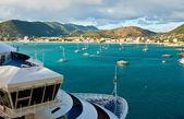 View of Philipsburg, St. Maarten — Stock Photo