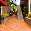 Stock Photo: Alleyway in St. Thomas USVI