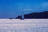 Sailing in St. Maarten — Stock Photo