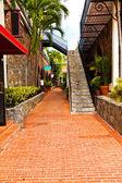Alleyway in St. Thomas USVI — Stock Photo