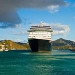 Постер, плакат: Cruise Ship in St Thomas