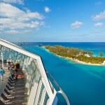 加勒比邮轮 — 图库照片