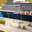 Holland America Cruise Ship — Stock Photo