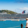 Постер, плакат: Carnival Dream in St Thomas USVI