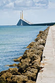 Skyway Bridge in Tampa, Florida — Stock Photo