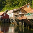 Shopping Village in Ketchikan, Alaska — Stock Photo #25586723