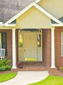 Traditionele front deuropening — Stockfoto
