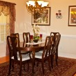 Traditional Dining Room — Stock Photo