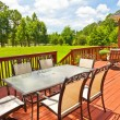 Backyard Deck — Stock Photo #28288085