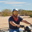 Stock Photo: ATV Driver