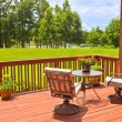 Backyard Deck — Stock Photo #28294917