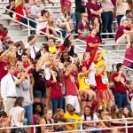 fãs de Universidade de estado de Florida — Foto Stock