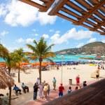 St. maarten strand — Stockfoto