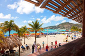 St. Maarten Beach — Stock Photo