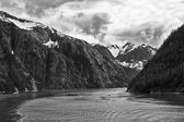 Tracy Arm Fjord — Stock Photo