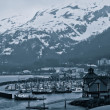 Stock Photo: Whittier, Alaska