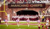 FSU Marching Chiefs — Stock Photo