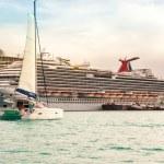 Cruise Port St. Maarten — Stock Photo