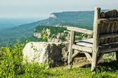 Uitzicht op de bergen — Foto de Stock