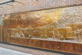 FDNY Memorial Wall — Stock Photo