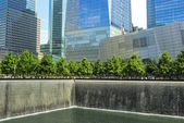 The Memorial at the World Trade Center — 图库照片