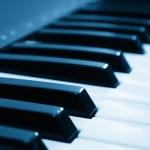 Music keyboard — Stock Photo
