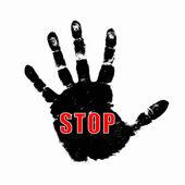 Hand - Stop — Stock Photo