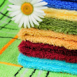 Сolored towels — Stock Photo