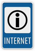 Señal de internet — Foto de Stock