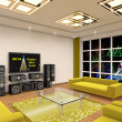 Interior of modern room 2014 — Stock Photo #35682213