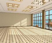 Interior empty room — Stock Photo