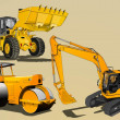 Royalty-Free Stock Векторное изображение: Heavy equipment