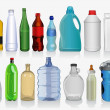 Kinds of bottles — Stock Vector #16862919