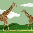 Higher animals 2 — Vector de stock #16863579