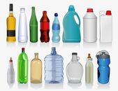 Kinds of bottles — Stock Vector