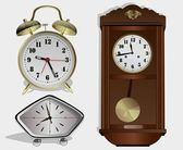Horas semelhantes — Vetorial Stock