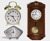 Similares horas — Vector de stock