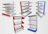 Display rack12 — Stock Vector